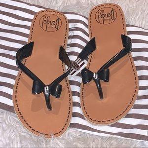 HENRI BENEDEL LA PLAYA Flip Flops Size 9